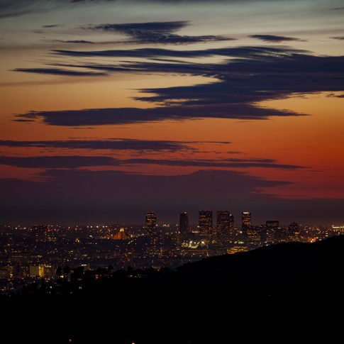 fotografie paesaggio posters los angeles tramonto sunset