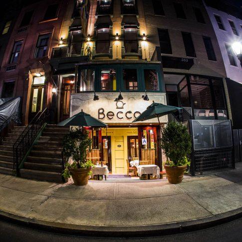 fotografia food ristoranti piatti cibo ingresso becco new york
