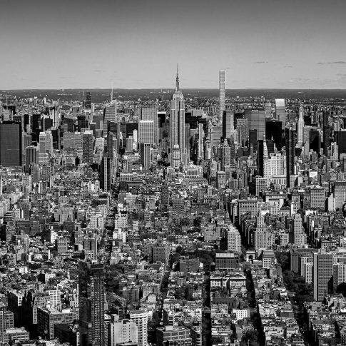fotografie paesaggio posters new york manhattan dalla freedom tower