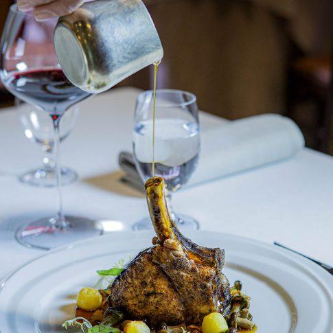 fotografia food ristoranti piatti cibo ricetta carne costoletta