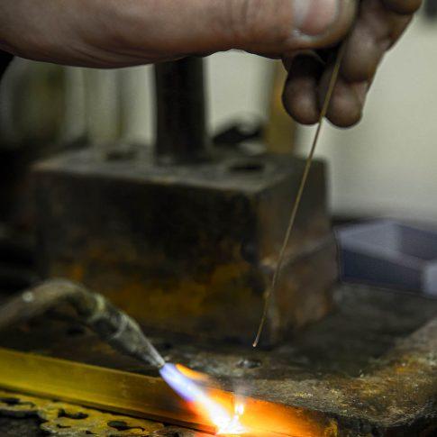 servizi fotografici commerciali aziende artigiano saldatore ferro