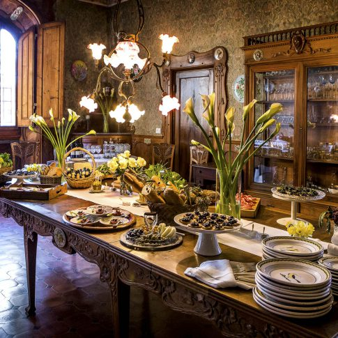 fotografia food ristoranti piatti cibo tavola buffet lusso