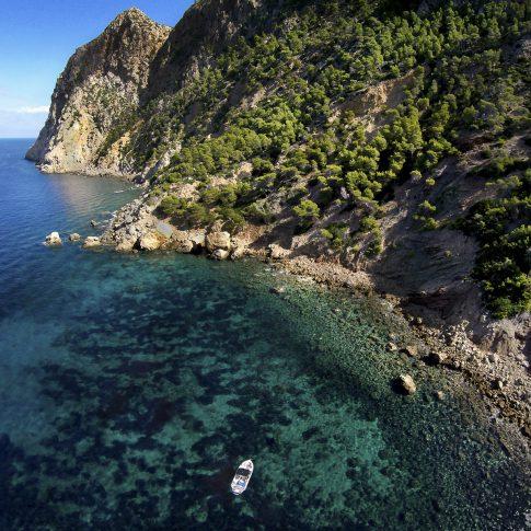 servizi foto video di case immobiliari ristoranti hotels barche drone vista palma de mallorca mare e barca